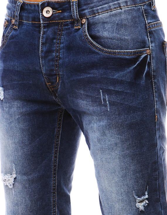 jeansowe spodenki męskie